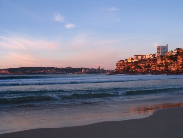Looking towards Manly from Freshwater Beach